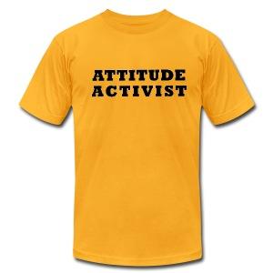 Attitude Activist T-shirt - Men's Fine Jersey T-Shirt