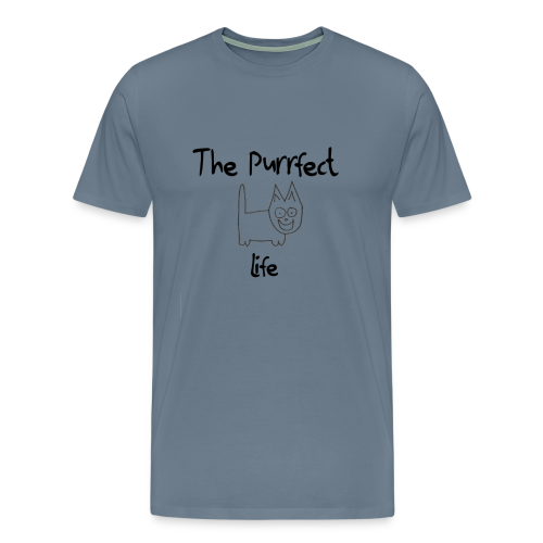 The Purrfect life - Men's Premium T-Shirt