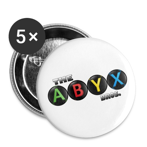 ABYX Bros. Pin Set - Large Buttons