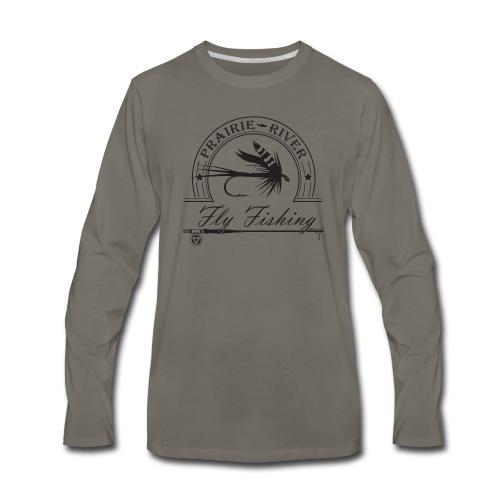 Prairie River Fly Fishing - Men's Premium Long Sleeve T-Shirt