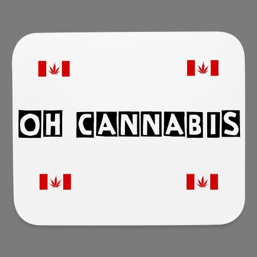 Premium Oh Cannabis Mouse Pad - Mouse pad Horizontal