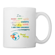 Mugs & Drinkware ~ Coffee/Tea Mug ~ Power of Positivity Affirmation Mug