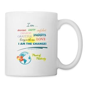 Power of Positivity Affirmation Mug - Coffee/Tea Mug