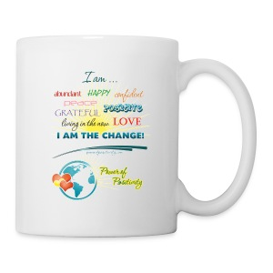 Power of Positivity Affirmation Mug - Coffee/Tea Mug