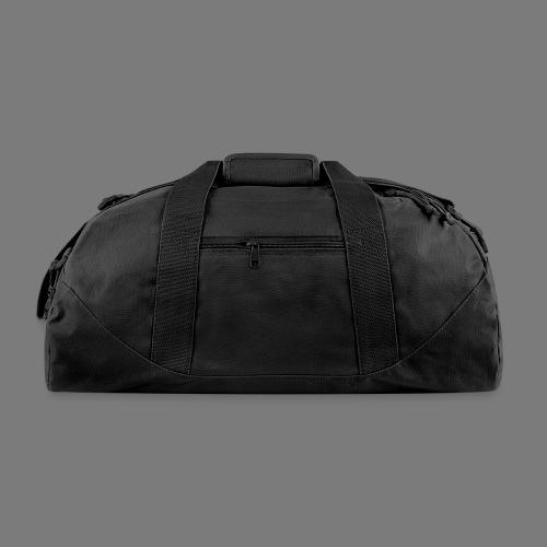 Solid Black Duffel Bag - Duffel Bag