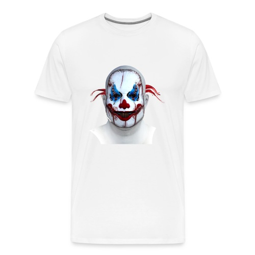 Halloween Horror Clown - Men's Premium T-Shirt