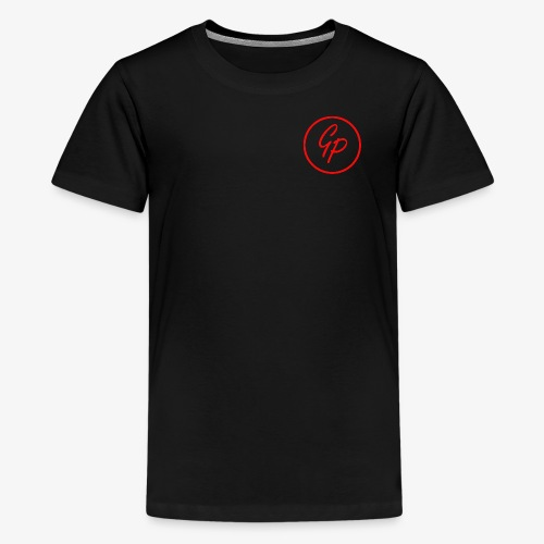 Kids Red Basic Logo - Kids' Premium T-Shirt