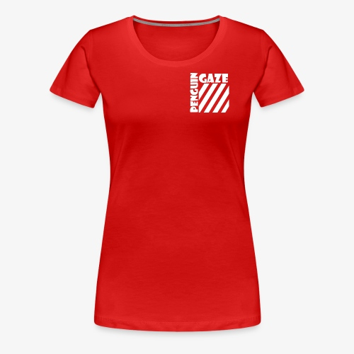 Women Penguin GaZe Stripes  - Women's Premium T-Shirt