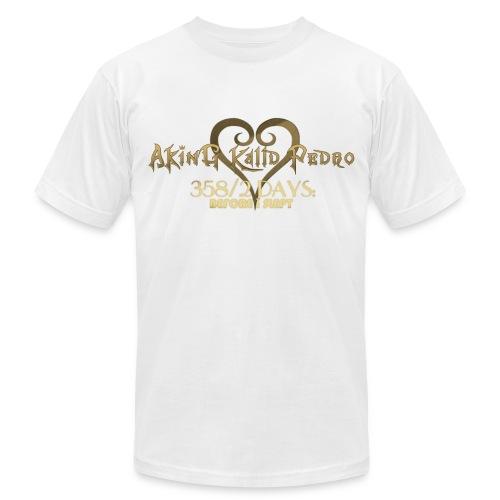 358/2 DAYS TF White (Male) - Men's Fine Jersey T-Shirt