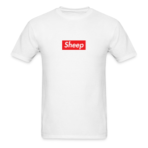 sheep box - Men's T-Shirt