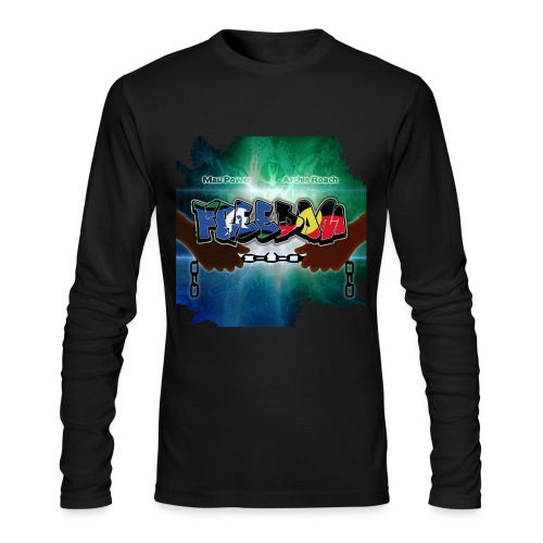 Freedom Breakin' The Chains Long sleeve T-Shirt - Men's Long Sleeve T-Shirt by Next Level