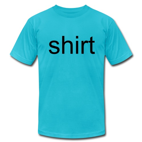 Men's  Jersey T-Shirt - c'mon man, get your shirt together... nice soft tee by American Apparel.