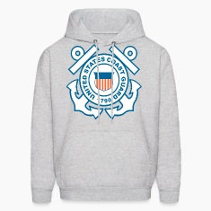 Coast Guard Symbol Hoodies