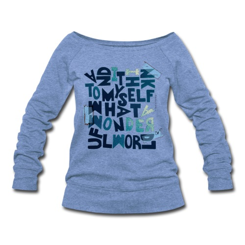 Satchmo - Women's Wideneck Sweatshirt