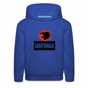 Legit eagle kids's premium hoodie - Kids' Premium Hoodie