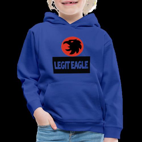 Legit eagle kids premium hoodie - Kids' Premium Hoodie