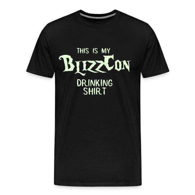 BlizzCon Drinking Shirt (Glow in the Dark Text)