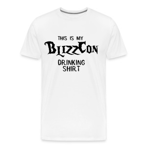 BlizzCon Drinking Shirt (Black Text) - Men's Premium T-Shirt