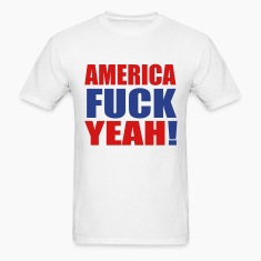 America Fuck Yeah! Vector (Pick Colors) T-Shirts