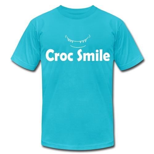 Croc Smile American Apparel Men's T shirt - Men's Fine Jersey T-Shirt