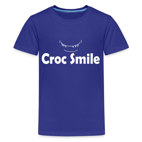 Croc Smile Kid's T-shirt by American Apparel - Kids' Premium T-Shirt