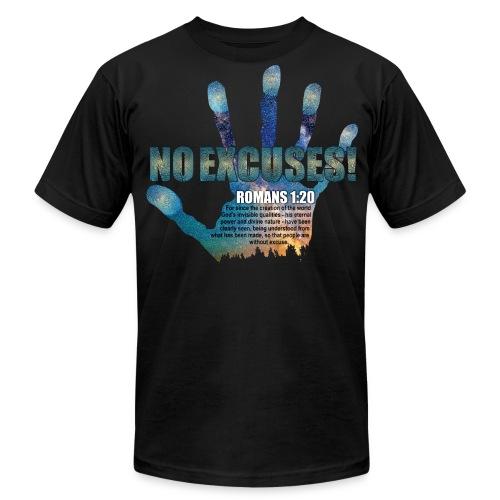 No Excuses! - Men's Fine Jersey T-Shirt