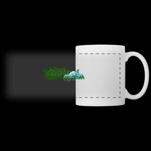 Wake and Mt. Baker Mug - Panoramic Mug
