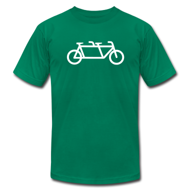 Men's Tandem Bicycle T-shirt