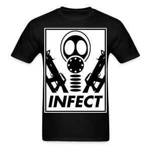 INFECT FOR WORLD DOMINATION TEE - Men's T-Shirt