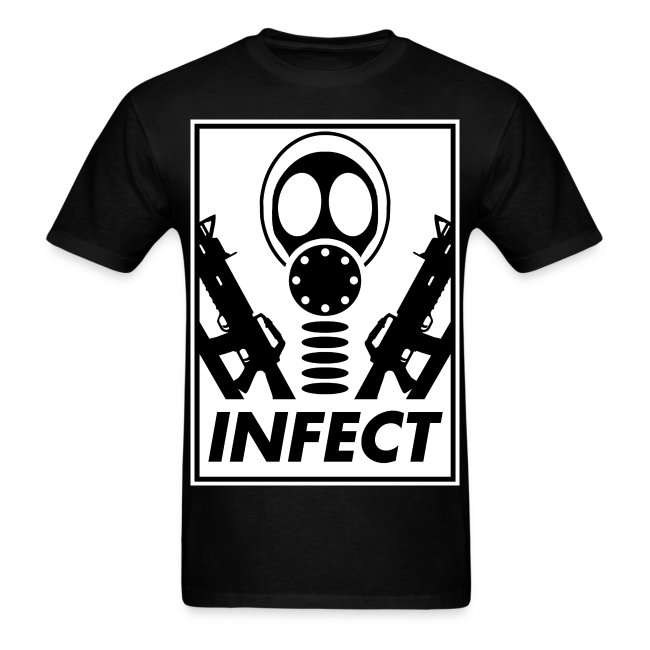 INFECT FOR WORLD DOMINATION TEE