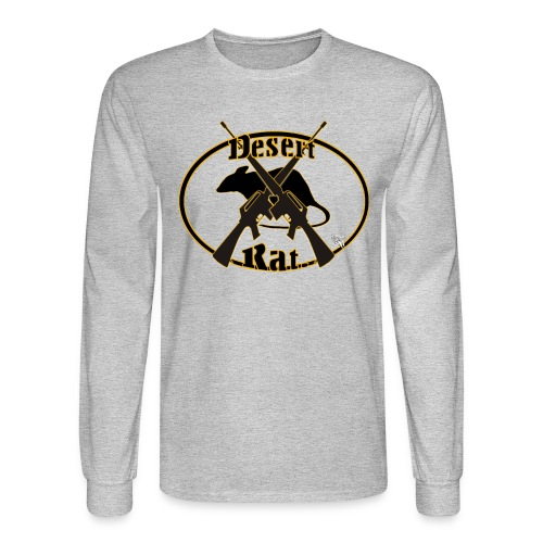 Desert Rat Mens Long - Men's Long Sleeve T-Shirt