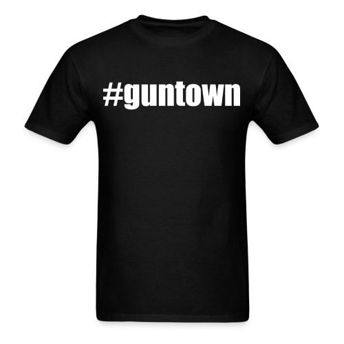 Guntown-Girardville-Hashtag-Tee - Men's T-Shirt