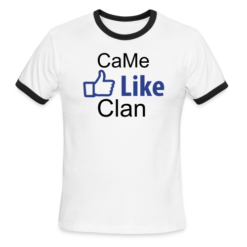 like CaMe Clan - Men's Ringer T-Shirt