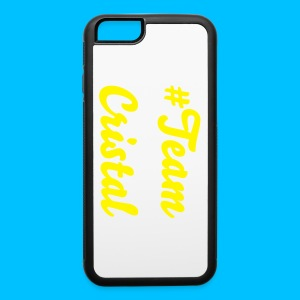 #TeamCristal iPhone 6/6s Rubber Case - iPhone 6/6s Rubber Case