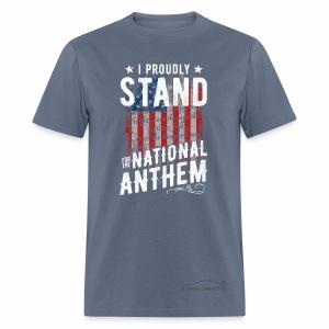 CCU NATIONAL ANTHEM 1 - Men's T-Shirt