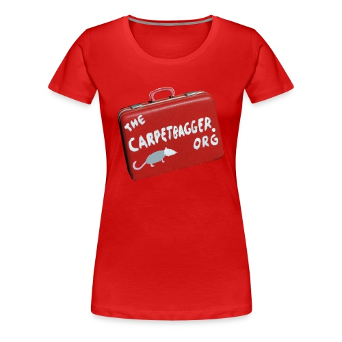 Carpetbagger Woman's Suitcase Shirt - Women's Premium T-Shirt
