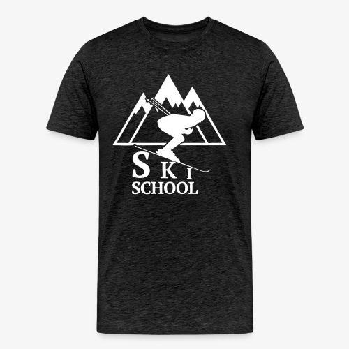 Ski School Shirt - Men's Premium T-Shirt