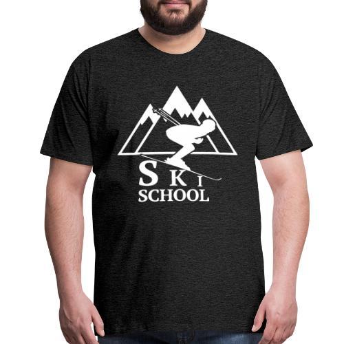 Ski School Shirt - Men's Premium T-Shirt