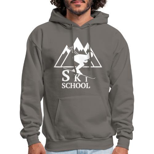 Ski School Hoodie - Men's Hoodie