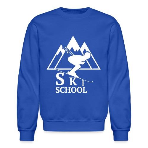 Ski School Crewneck - Crewneck Sweatshirt