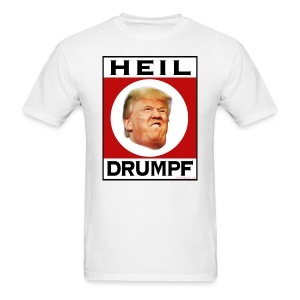 Trump Hitler nazi T-shirt - Men's T-Shirt