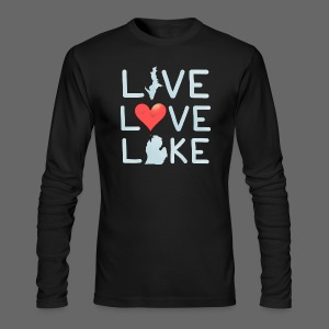 Live Love Lake - Men's Long Sleeve T-Shirt by Next Level