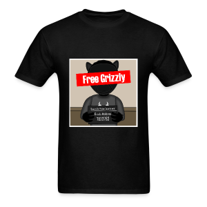 Free Grizzly - Men's T-Shirt