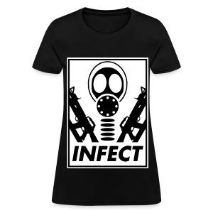 INFECT WORLD DOMINATION HONEYS TEE - Women's T-Shirt