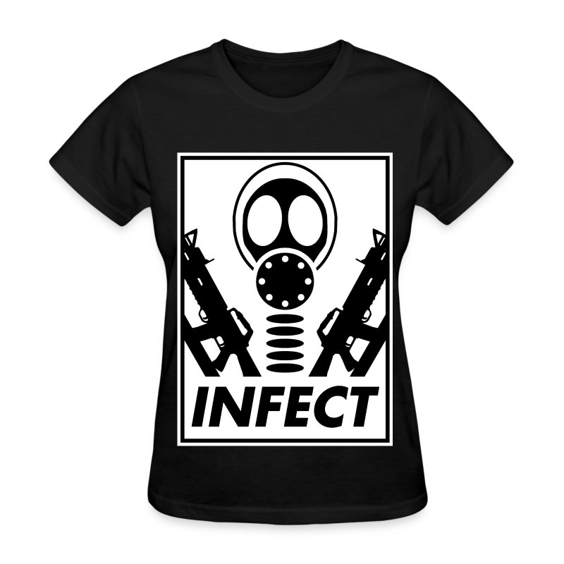 INFECT WORLD DOMINATION HONEYS TEE - Women's T-Shirt