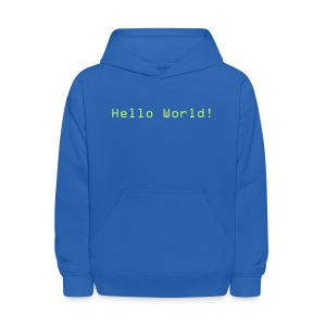 Hello World! - Kids' Hoodie
