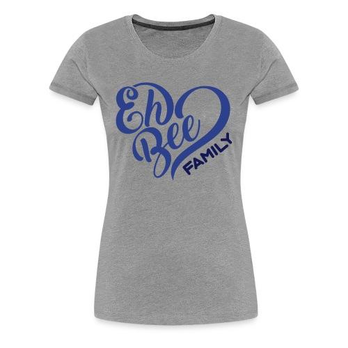 Eh Bee Heart Women's Premium Tee - Women's Premium T-Shirt