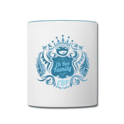 Family Crest Contrast Mug - Contrast Coffee Mug