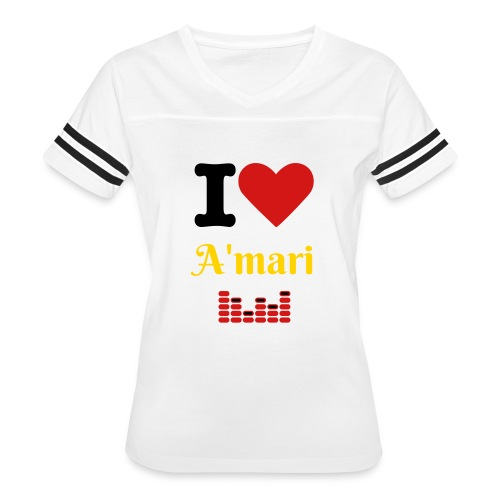 Amari Cheater Girls Hoodies - Women's Vintage Sport T-Shirt