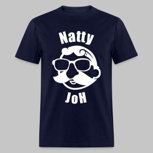 Natty Joh T - Blue (Standard) - Men's T-Shirt